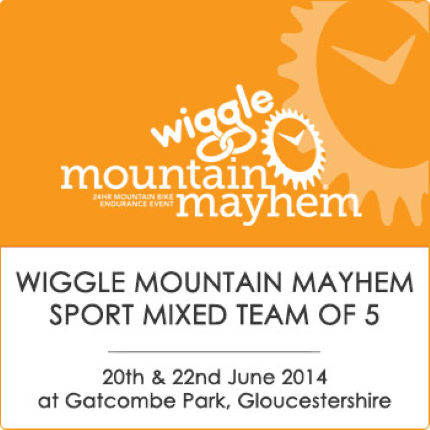 Mountain Mayhem Wiggle Sport Mixed Team Of 5 2014