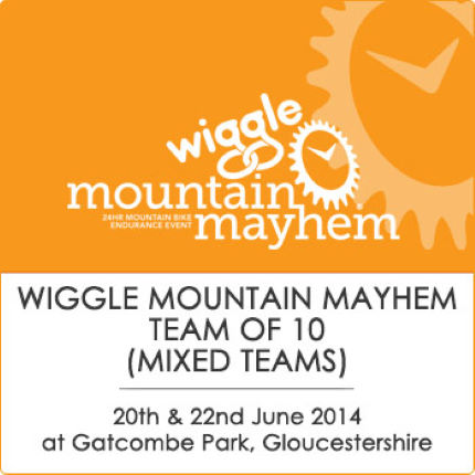 Mountain Mayhem WiggleTeam Of 10 (Mixed) 2014