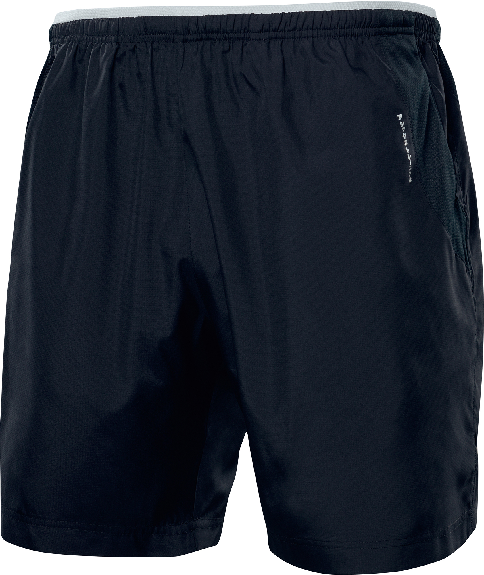 asics motion dry shorts