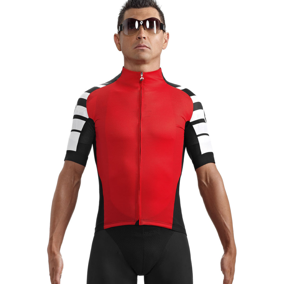 Maillot Assos SS.cento_s7 - XL Red Swiss Maillots vélo à manches courtes