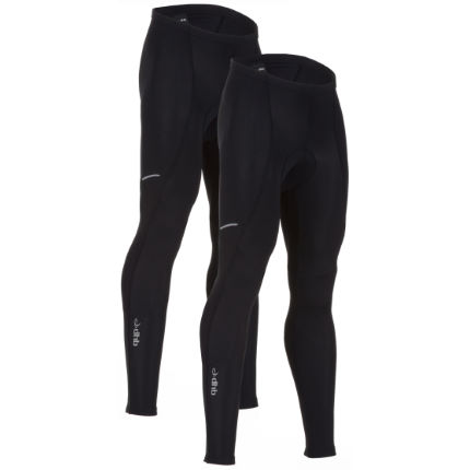 dhb Vaeon Padded Waist Tights-Pack of 2