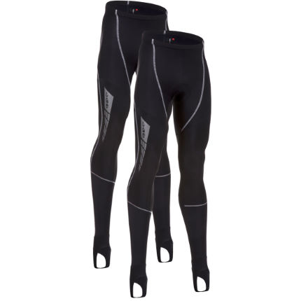 dhb Vaeon Reflex Roubaix Padded Waist Tight-Pack of 2