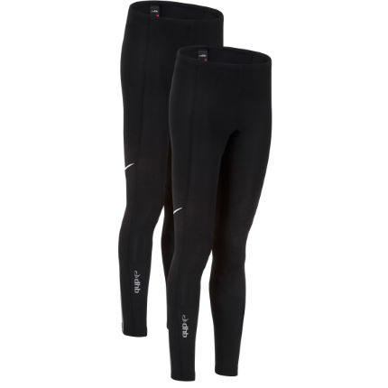 dhb Ladies Vaeon Unpadded Waist Tights-Pack of 2
