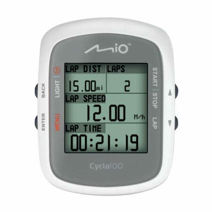 Mio Cyclo 100 GPS Cycle Computer With Out Front Mount