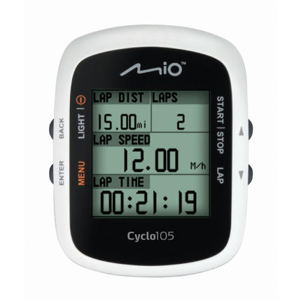 Mio Cyclo 105 GPS Cycle Computer With Ant Plus