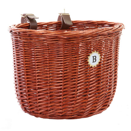 Bobbin Small Oval Handlebar Basket