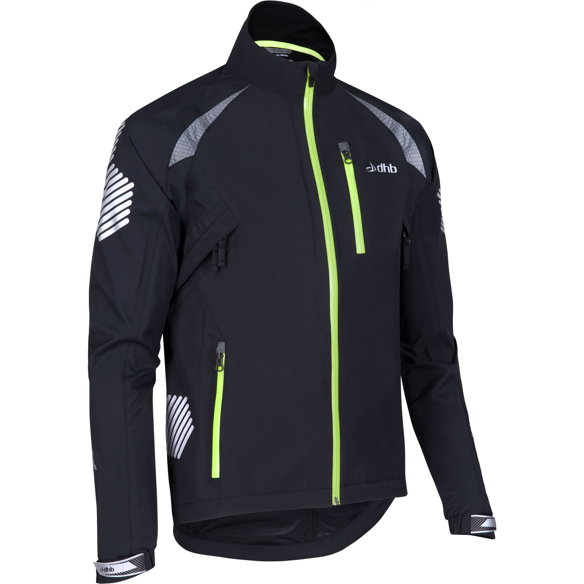 Dhb Flashlight Highline Waterproof Jacket Cycling