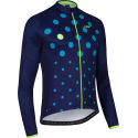 dhb Blok Blue Dot Long Sleeve Jersey