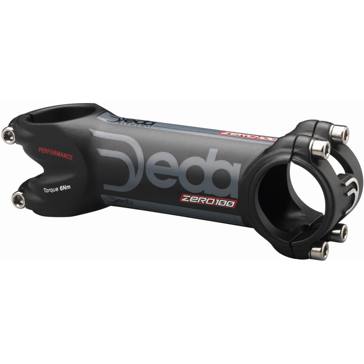 Potence Deda Zero 100 Performance - 110mm 82 Degrees Black / Black