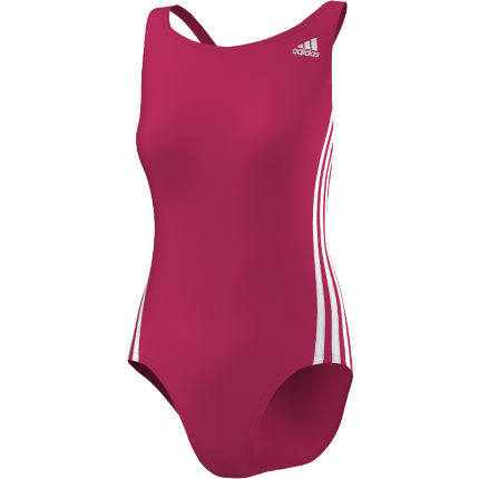 Adidas Women's Infinitex 3 Stripe Swimsuit SS14