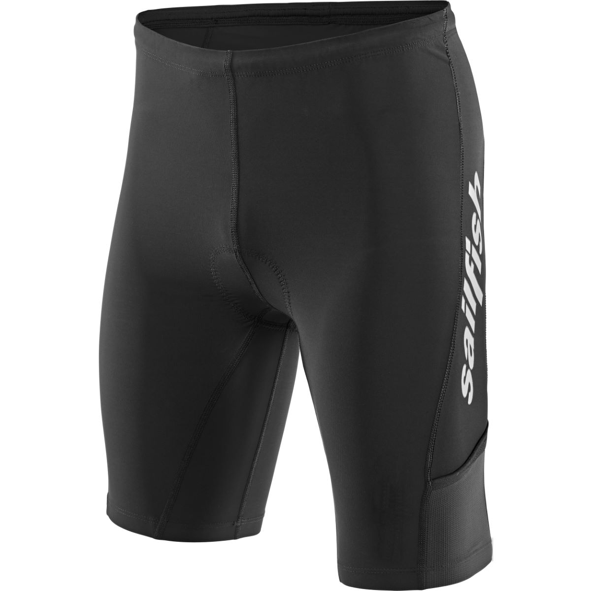 Cuissard court de triathlon Sailfish Comp - XS Noir Cuissards de triathlon