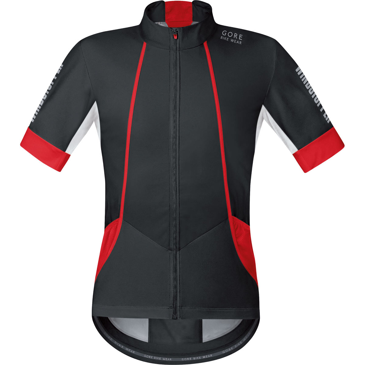 Gore Bike Wear Oxygen Windstopper Softshell Short Sleeve Jersey