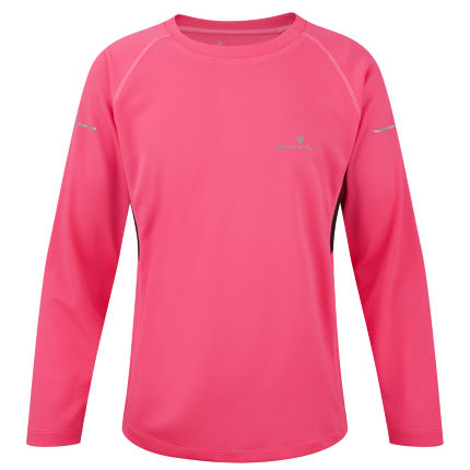 Ronhill Junior Pursuit Long Sleeve Tee - AW14