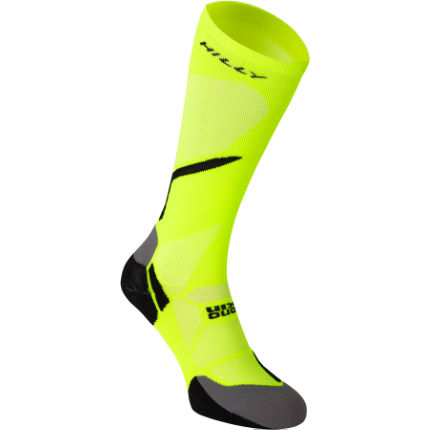 Hilly Vivid Compression Sock Yellow/Black XL
