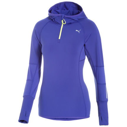 Puma Women's Core Long Sleeve Half Zip Hoody - SS14