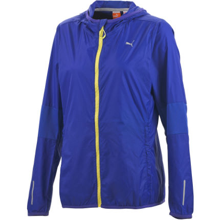 Puma Women's Running Hood Lightweight Jacket - SS14