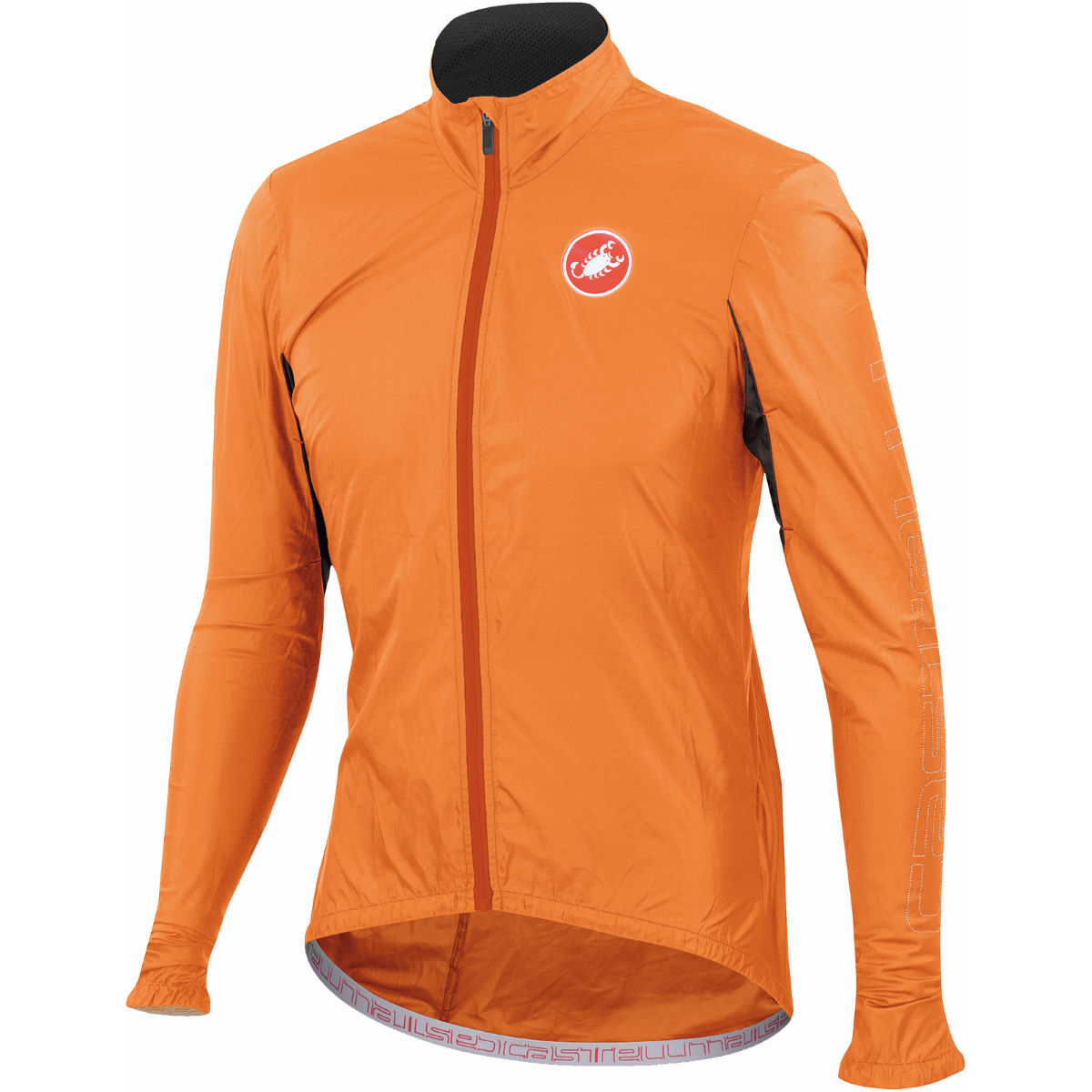 Veste Castelli Velo - S Orange Coupe-vents vélo