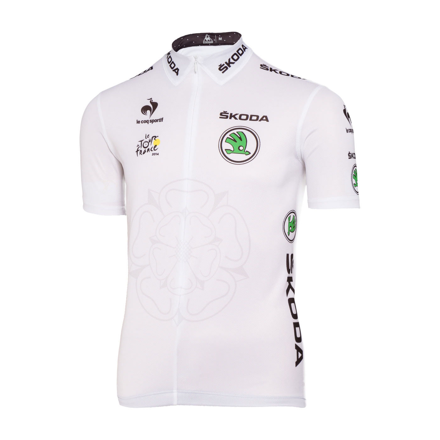 maillots manches courtes le coq sportif tour de france young riders white jersey wiggle. Black Bedroom Furniture Sets. Home Design Ideas
