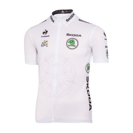 Le Coq Sportif Tour de France Young Riders White Jersey