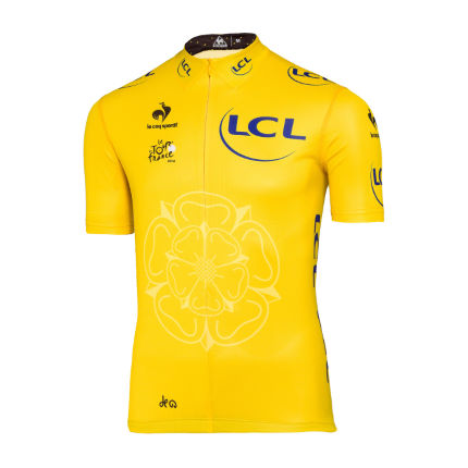 Le Coq Sportif Tour de France Leaders Yellow Jersey