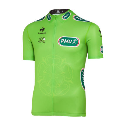 Le Coq Sportif Tour de France Spinters Green Jersey