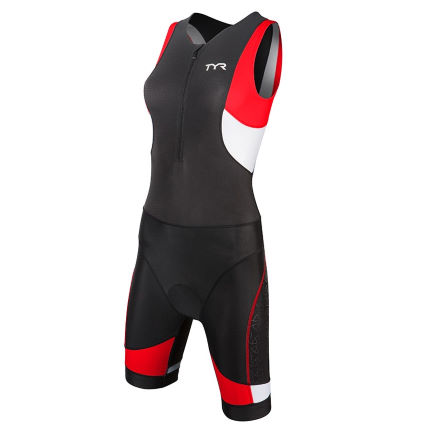 TYR Women's Competitor Trisuit With Front Zipper