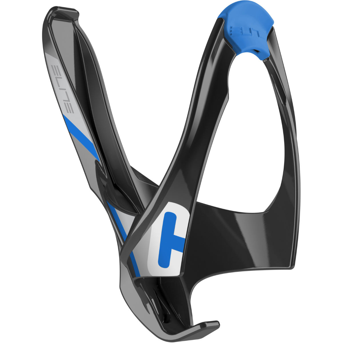 Porte-bidon Elite Cannibal Wide Mouth - Black Blue Graphic