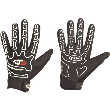 Northwave Skeleton Full Finger Gloves