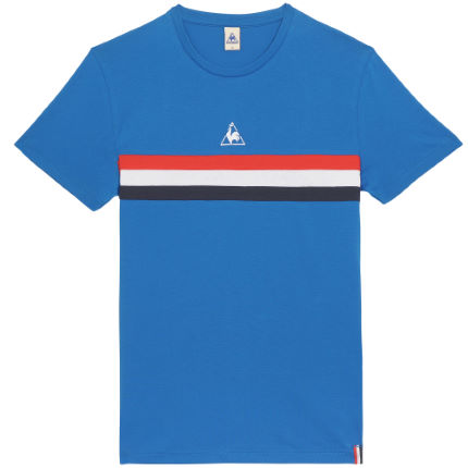 Le Coq Sportif Tricolores Rigin Short Sleeve Tee