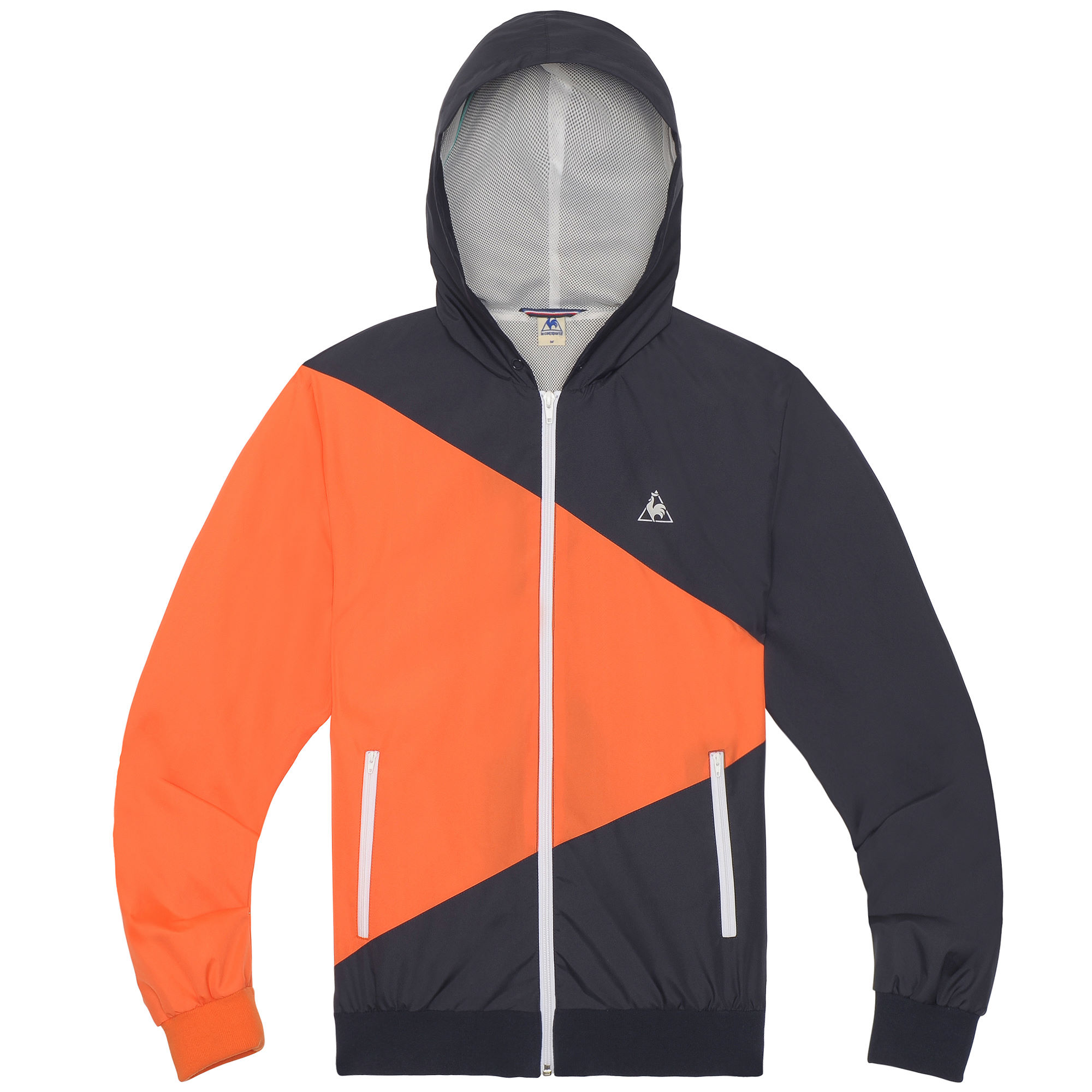 wiggle le coq sportif chronic wind break jacket casual jackets. Black Bedroom Furniture Sets. Home Design Ideas