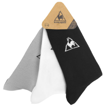 Le Coq Sportif Colour Socks Pack of 3 SS14