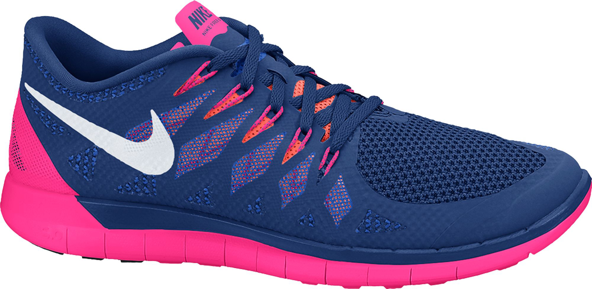nike free 5.0 14 running shoes - fa14 eau