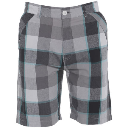 Animal Avent Check Flat Front Walkshort