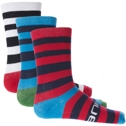 Animal Forestoke 3 Pack Socks