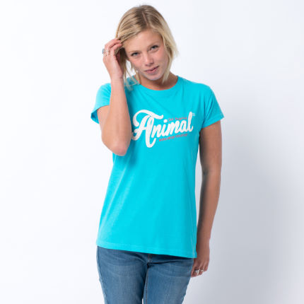 Animal Women's Ashtee Appliqué Tee