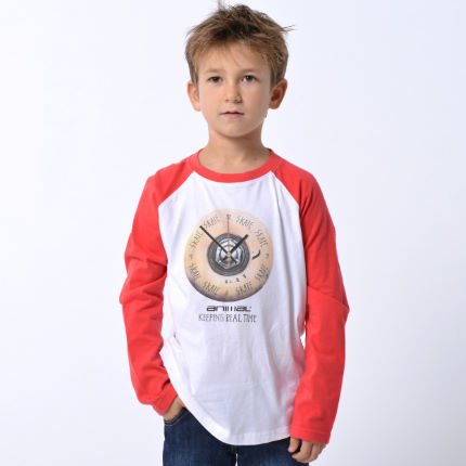 Animal Boys Backa Raglan Tee