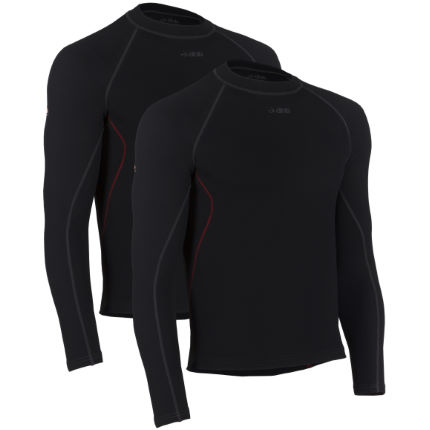 dhb Corefit Plus Long Sleeve Base Layer-Pack of 2