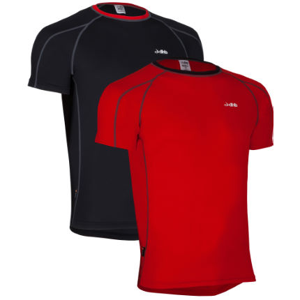 dhb Active Short Sleeve Base Layer-Pack of 2
