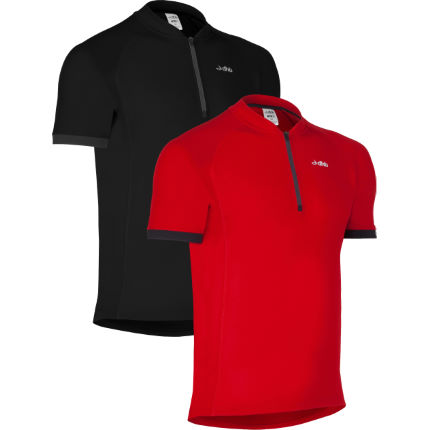 dhb Active Short Sleeve Cycling Jersey-Pack of 2