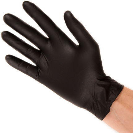 Black Mamba Nitrile Workshop Gloves - 8 Pack
