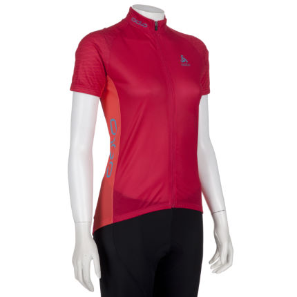 Odlo Women's Exclusive Telegraphe Short Sleeve Jersey