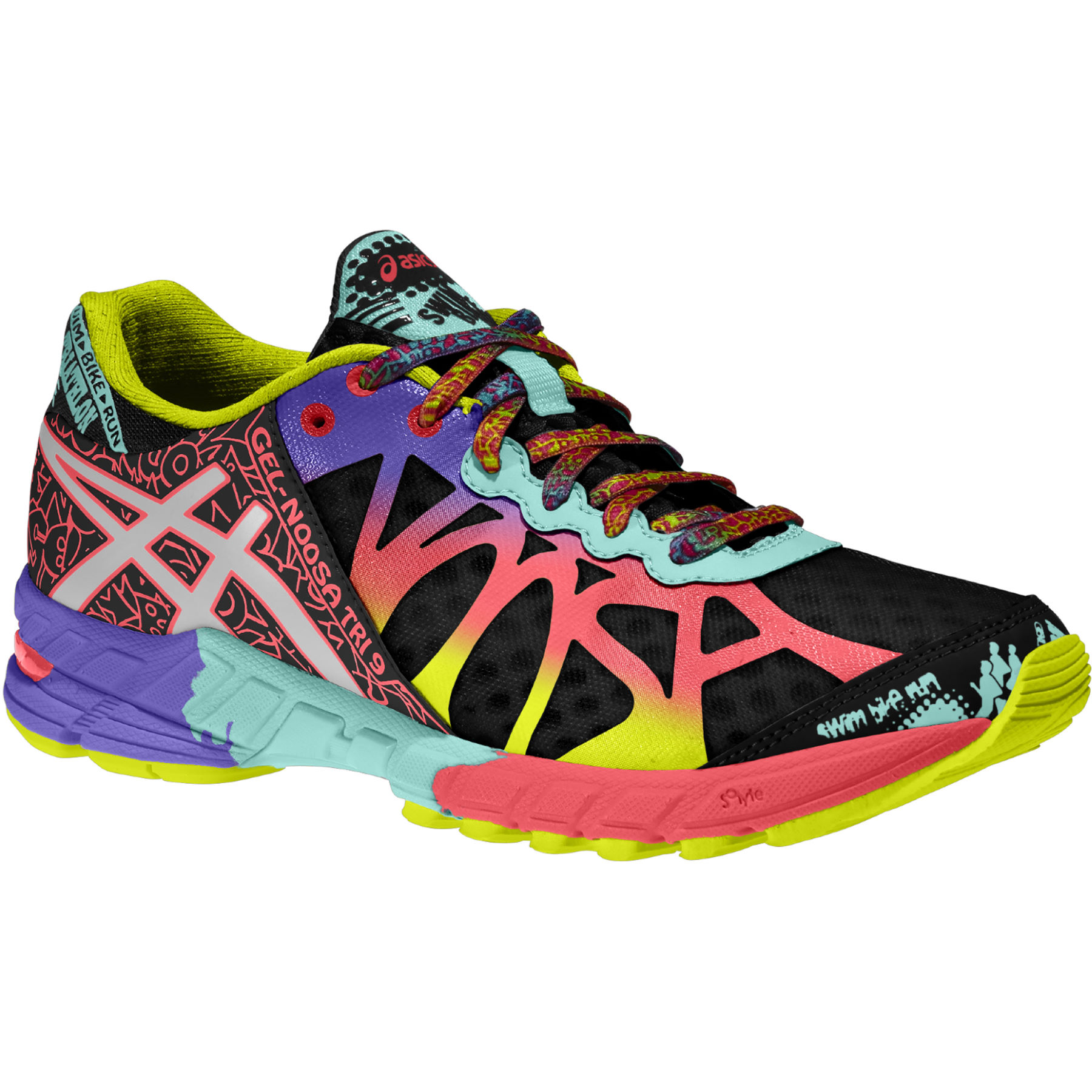 Zapatillas asics running 2014 zapatillas running asics gel - Asics Women S Gel Noosa Tri 9 Shoes Aw14