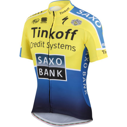Sportful Tinkoff Saxo Short Sleeve Team Jersey
