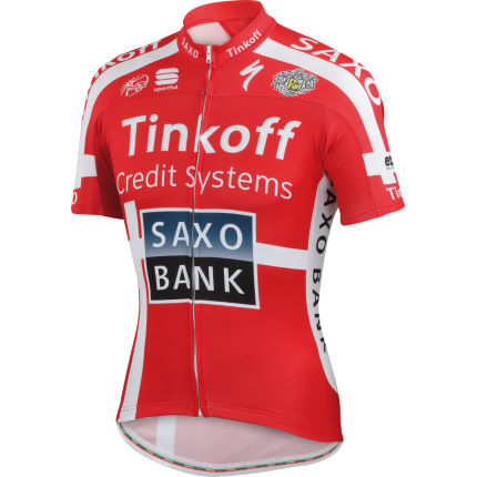 Sportful Tinkoff Saxo Danish Champ Team Jersey