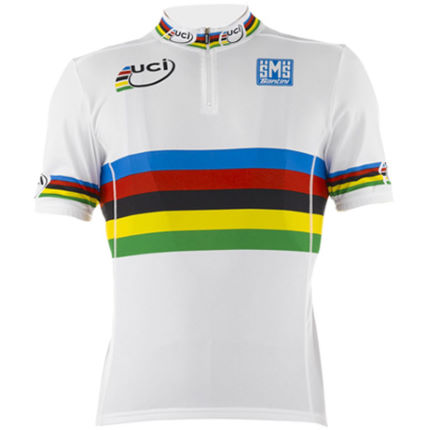 Santini UCI World Road Champion Rainbow Jersey