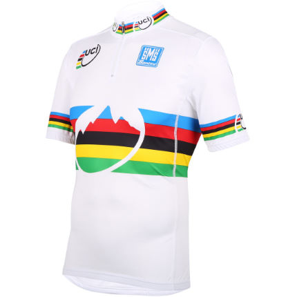 Santini UCI World MTB Champion Rainbow Jersey
