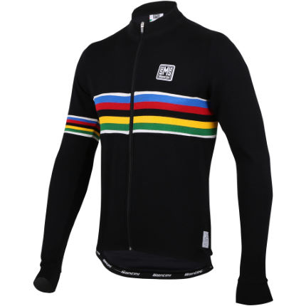 Santini UCI Rainbow Fashion Line Long Sleeve Jersey