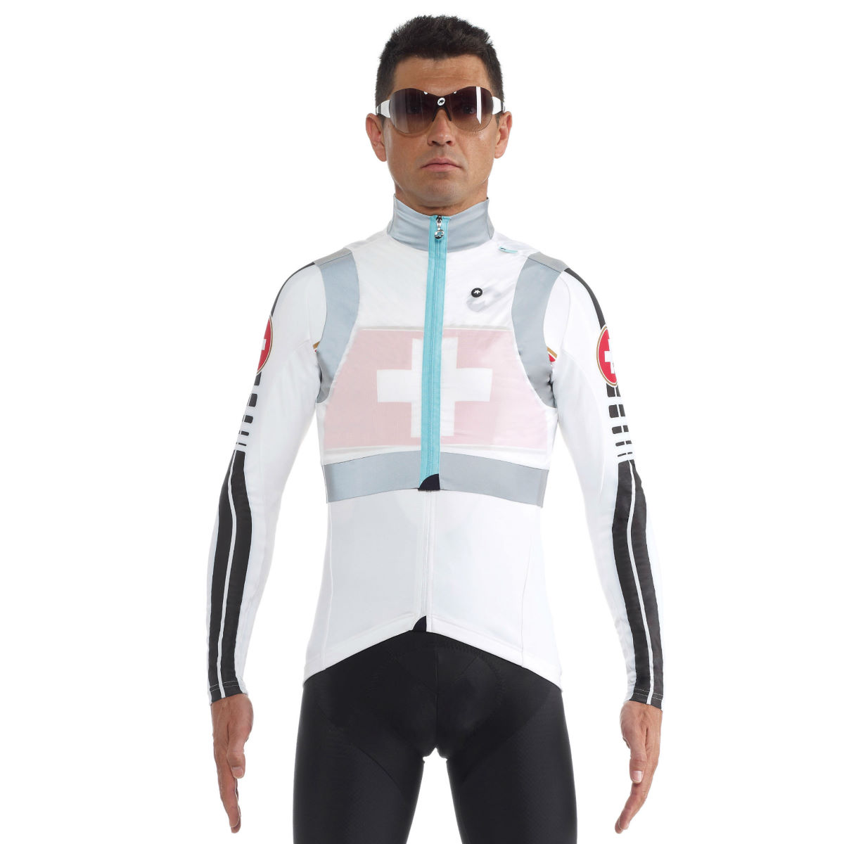 Gilet sans manches Assos Emergency - Extra Large White Panther