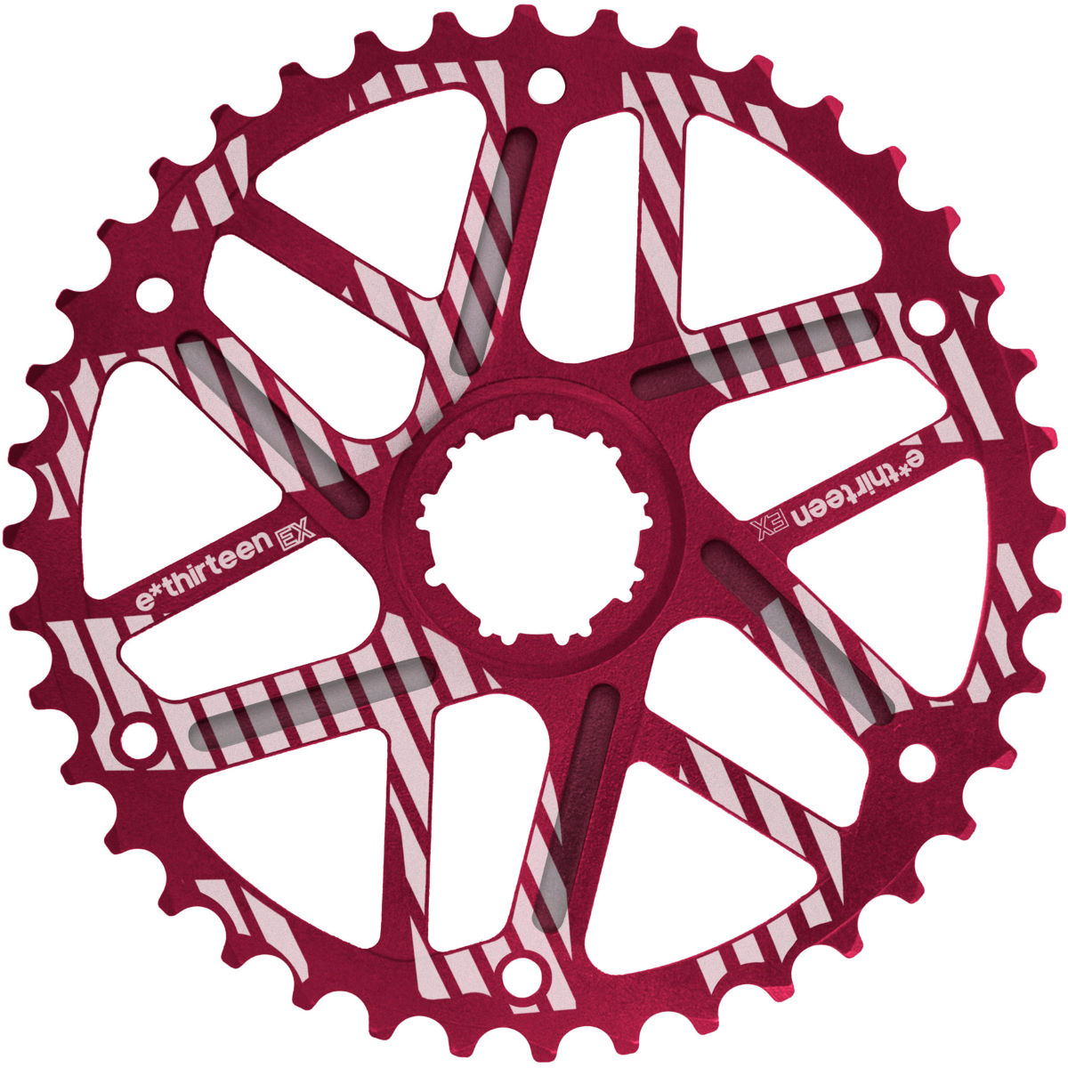 Pignon d'expansion de la cassette e.thirteen - 42T SRAM Rouge
