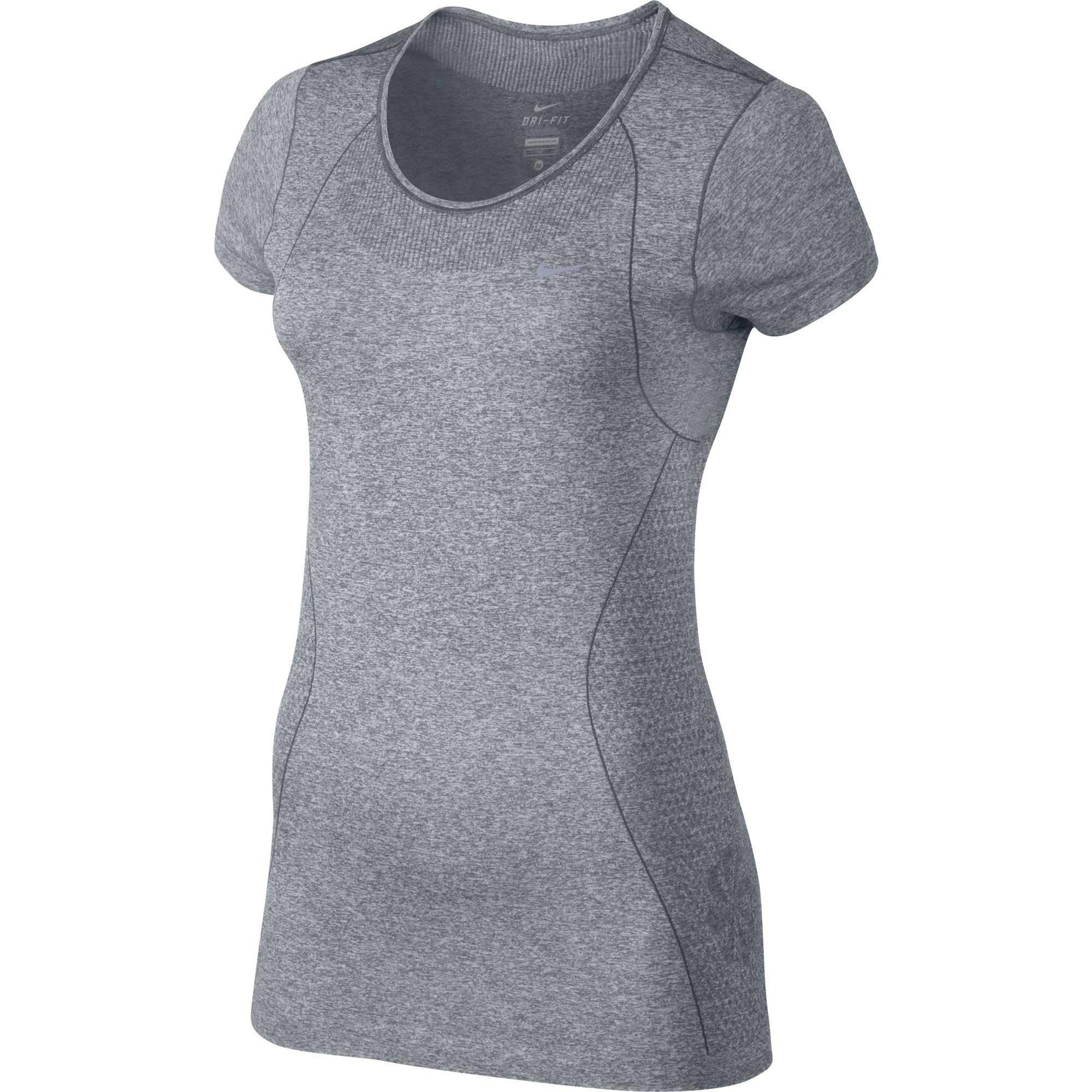 Wiggle nike women 39 s dri fit knit short sleeve su14 for Best athletic dress shirts